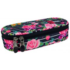PENCIL CASE ST.RIGHT LIGHT ROSES PC-01