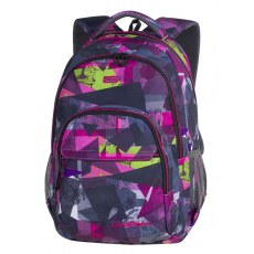 BACKPACK COOLPACK BASIC PLUS PINK ABSTRACT 27L (A143)