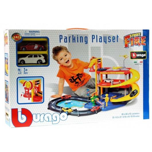 BURAGO PARKING PLAYSET 18-30025