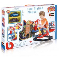 BBURAGO FIRE STATION PLAYSET 18-30043