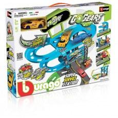 BBURAGO GO GEARS SUPER SERVICE STATION 18-30261