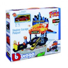 BBURAGO PARKING SKYLINE GARAGE PLAYSET 18-30358