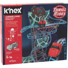 K'NEX COBWEB CURSE ROLLER COASTER BUILDING SET 51056