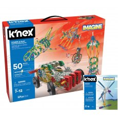 K'NEX IMAGINE POWER & PLAY 50 MODELI 23012 + GRATIS