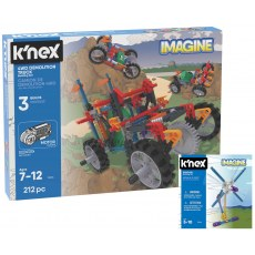 K'NEX IMAGINE 4WD DEMOLITION TRUCK BUILDING SET 23012
