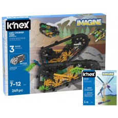 K'NEX IMAGINE 4WD CRUSHER TANK BUILDING SET 13026