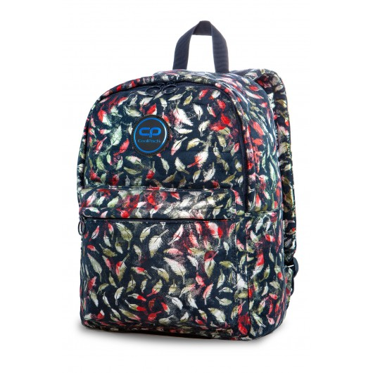 51577965d927d CoolPack - Plecak Ruby Glam Feathers Blue 22752CP | Modny-Dzieciak.pl
