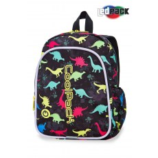 BACKPACK COOLPACK BOBBY LEDPACK DINOSAURS (A23204)