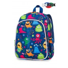 BACKPACK COOLPACK BOBBY LEDPACK FUNNY MONSTERS (A23206)