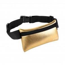 SASZETKA BIODROWA FITNESS SPOKEY HIPS BAG GOLD
