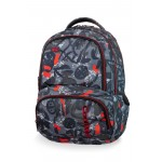 PLECAK SZKOLNY COOLPACK SPINER RED INDIAN (B01005)