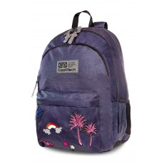 BACKPACK COOLPACK HIPPIE SPARKLING BADGES JEANS (B33086)