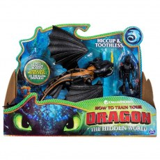 HOW TO TRAIN YOUR DRAGON: THE HIDDEN WORLD - HICCUP & TOOTHLESS 20103709