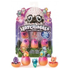 HATCHIMALS COLLEGGTIBLES 4-PACK + BONUS 6043960
