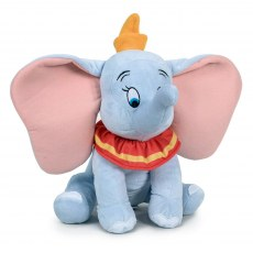 PLUSH MASCOT DISNEY DUMBO LIGHT BLUE 34 CM