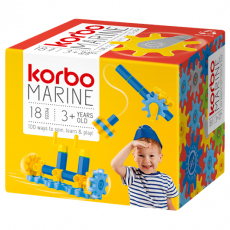 CONSTRUCTION BLOCKS KORBO MARINE 18