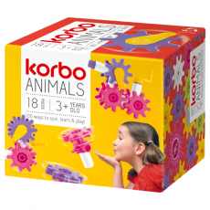 CONSTRUCTION BLOCKS KORBO ANIMALS 18