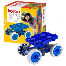 CONSTRUCTION BLOCKS KORBO HUMMER 25 BLUE