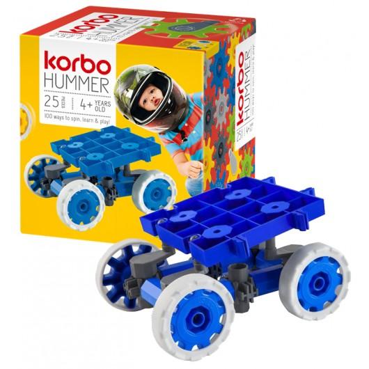 KLOCKI KONSTRUKCYJNE KORBO HUMMER 25 BLUE