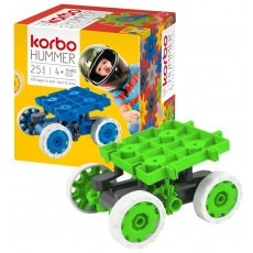 CONSTRUCTION BLOCKS KORBO HUMMER 25 GREEN