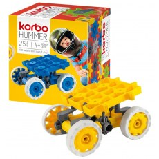 CONSTRUCTION BLOCKS KORBO HUMMER 25 YELLOW