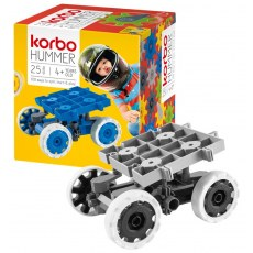CONSTRUCTION BLOCKS KORBO HUMMER 25 GREY