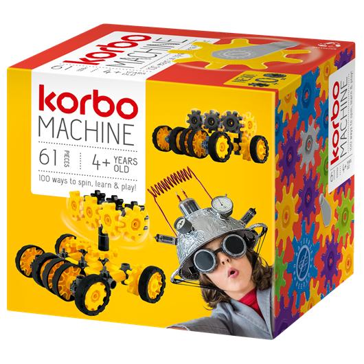 KLOCKI KONSTRUKCYJNE KORBO MACHINE 61