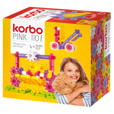 CONSTRUCTION BLOCKS KORBO PINK 110