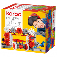 CONSTRUCTION BLOCKS KORBO CAR SERVICE 119