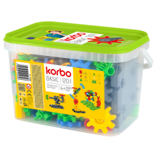 KLOCKI KONSTRUKCYJNE KORBO BASIC 120