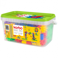 CONSTRUCTION BLOCKS KORBO BASIC 180