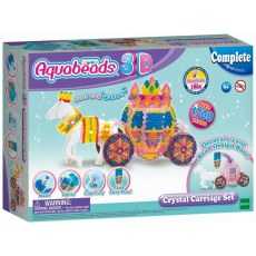 AQUABEADS 3D CRYSTAL CARRIAGE SET 31363