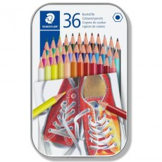 STAEDTLER COLOURED PENCILS 36 COLORS