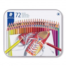STAEDTLER COLOURED PENCILS 72 COLORS