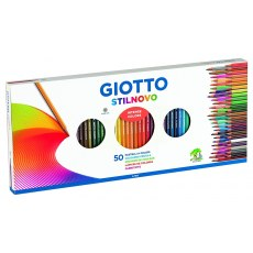 GIOTTO STILNOWO COLOURED PENCILS 50 COLORS