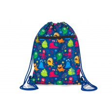 SHOE BAG COOLPACK VERT FUNNY MONSTERS (A70206)