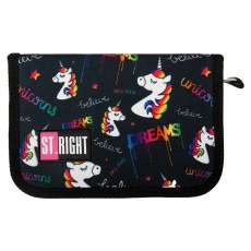 PRNCIL CASE ST.RIGHT PC-03 UNICORNS