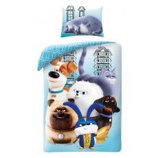 POSCIEL BAWELNIANA 160 X 200 CM THE SECRET LIFE OF PETS 2 PETS2-700BL