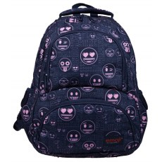 BACKPACK ST.RIGHT BP-07 EMOJI® PINK
