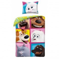 POSCIEL BAWELNIANA 140 X 200 CM THE SECRET LIFE OF PETS 2 PETS2-706BL