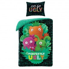 SINGLE DUVET SET 140 X 200 CM UGLY DOLLS UG-400BL