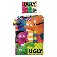 SINGLE DUVET SET 140 X 200 CM UGLY DOLLS UG-401BL