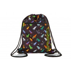 SHOE BAG COOLPACK VERT ROCKETS (A70207)