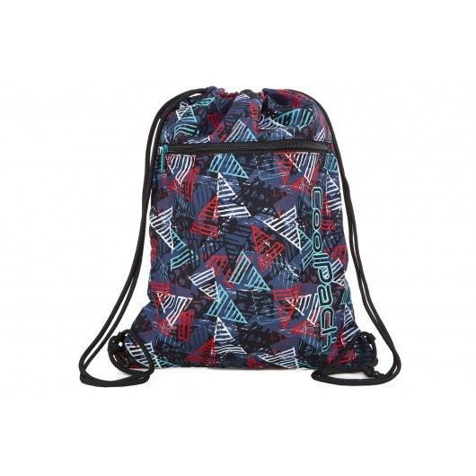 SHOE BAG COOLPACK VERT TRIANGLES (A70212)