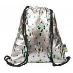 STRING BACKPACK ST.RIGHT SO-11 SILVER CACTUS
