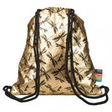 STRING BACKPACK ST.RIGHT SO-11 GOLD DRAGONFLY