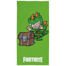 BATH TOWEL 70 X 140 CM FORTNITE LAMA CROCODILE FTN-111T