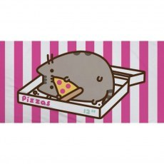 BATH TOWEL 70 X 140 CM PUSHEEN CAT PIZZA PUS-020T