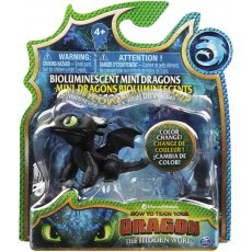 HOW TO TRAIN YOUR DRAGON: THE HIDDEN WORLD - BIOLUMINESCENT MINI DRAGON 20104708
