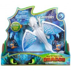 HOW TO TRAIN YOUR DRAGON: THE HIDDEN WORLD - DRAGON DELUXE STORMFLY 20103516